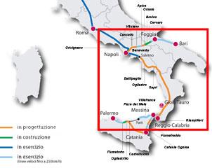 Napoli Bari alta velocità: grandi opere nel 2018 pronto nuovo collegamento