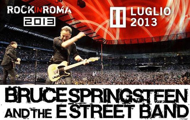 Concerto Bruce Springsteen Roma news su viabilità e curiosità evento