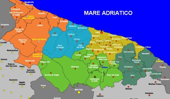 Bari dal 1 gennaio 2014 sar ufficialmente citt for Arredamenti bari e provincia