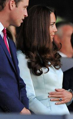 William e Kate tutti in attesa della nascita dell'erede al trono del Regno Unito