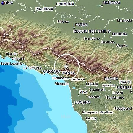 Terremoto in Lunigiana oggi nuove scosse continua lo sciame sismico