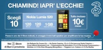 Tre Italia la compagnia telefonica lancia i suoi spot in dialetto barese