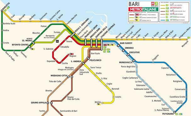 Bari-Bitritto collegamento ferroviario ultime notizie su ripresa lavori tratta