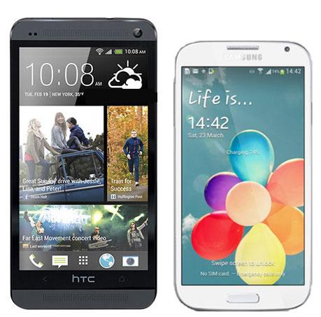 Htc One vs Samsung Galaxy s4: offerte gestori Wind, Vodafone e Tim