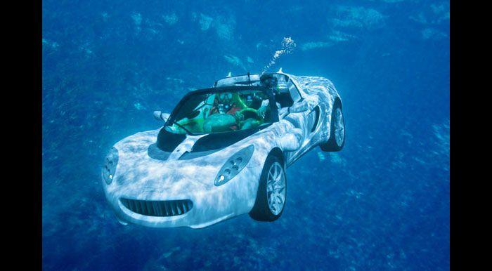 L'auto subacquea di James Bond presto potrebbe diventare realtà