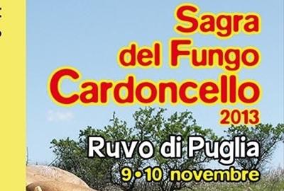 Sagra Fungo Cardoncello Ruvo di Puglia: programma manifestazione