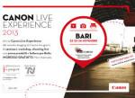 Canon-Live-Experience-a-Bari-dal-22-al-24-novembre-ospiti-e-programma-eventi