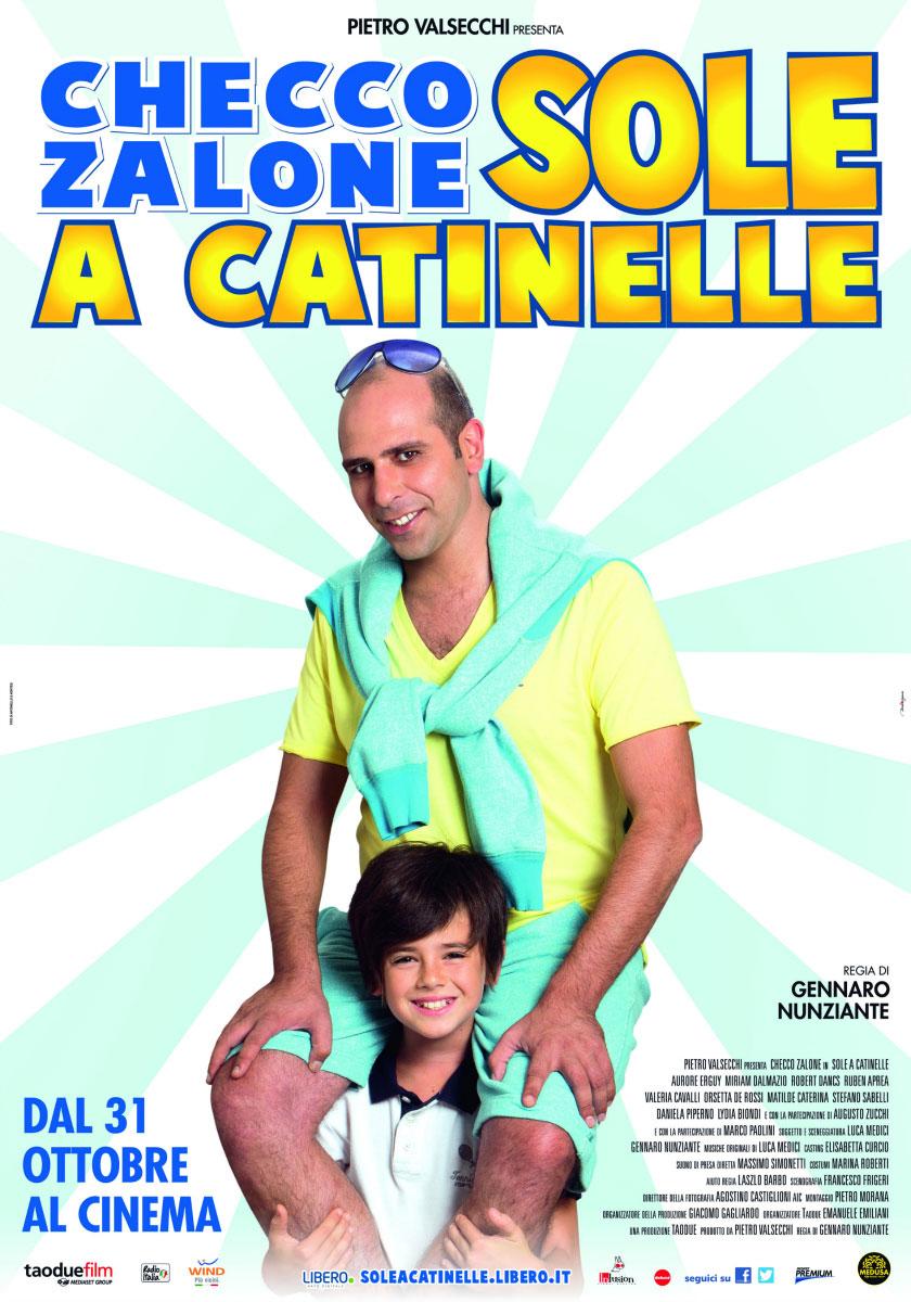 Sole a Catinelle: boom di incassi del film di Checco Zalone in sala dal 31 ottobre