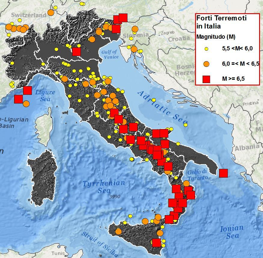 Terremoti in Italia: oggi nuova scossa tra Molise e Puglia