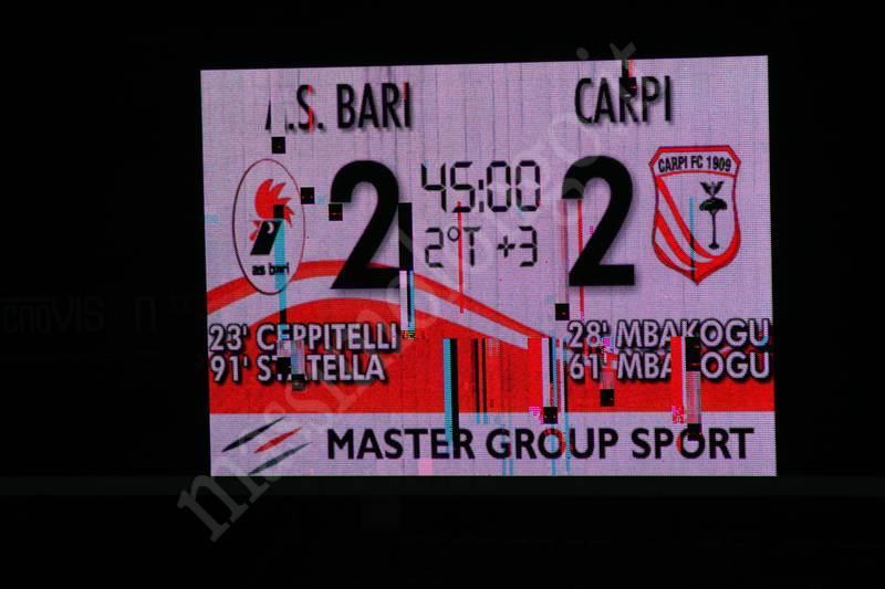 Bari – Carpi: cronaca e highlights gara