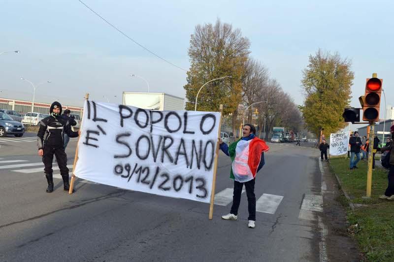 Sciopero Forconi in Italia: la situazione a Bari, Torino e Roma