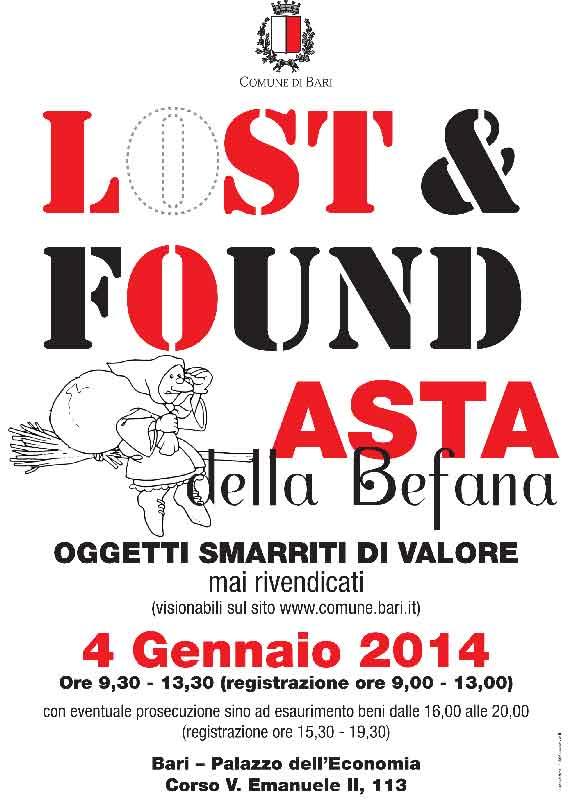 """""""Lost-&-Found-Asta-della-Befana-a-Bari-4-gennaio-programma-e-modalità-partecipazione"""