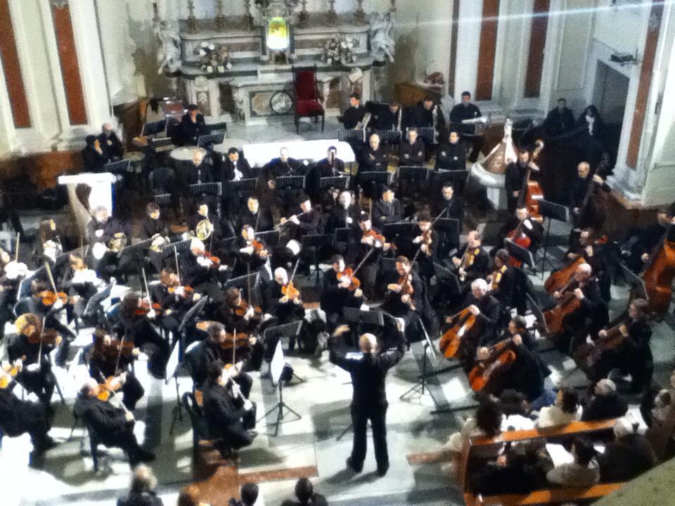 Chiesa di San Rocco Bari: grande spettacolo dell'orchestra sinfonica della provincia