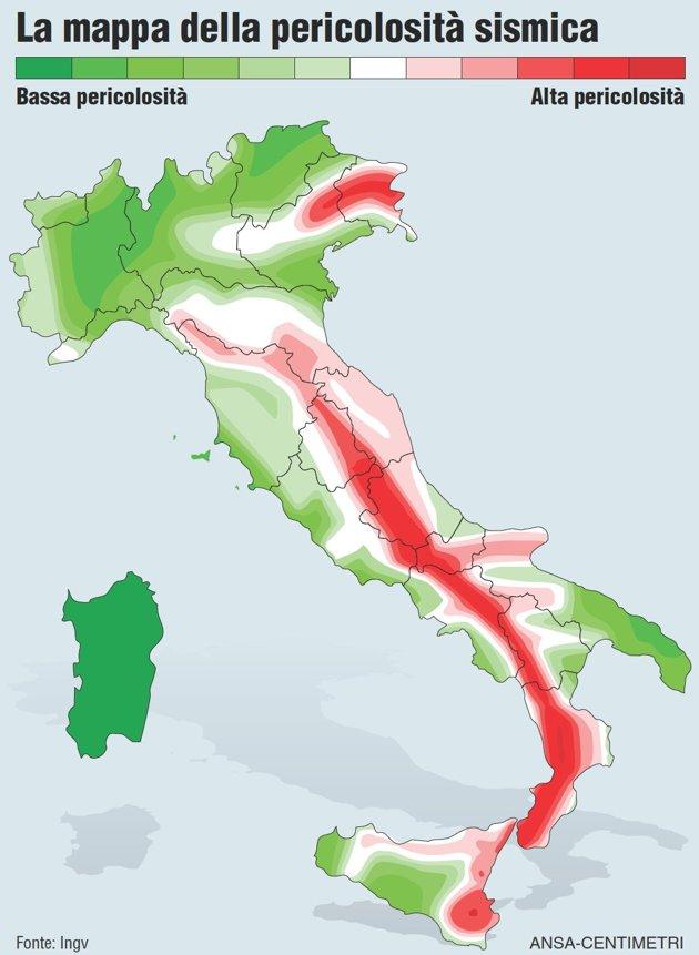 Terremoti in tempo reale: oggi, repliche in Campania e a Gubbio