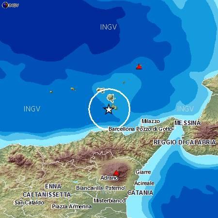 Terremoti in tempo reale oggi: news scosse Isole Lipari in Sicilia