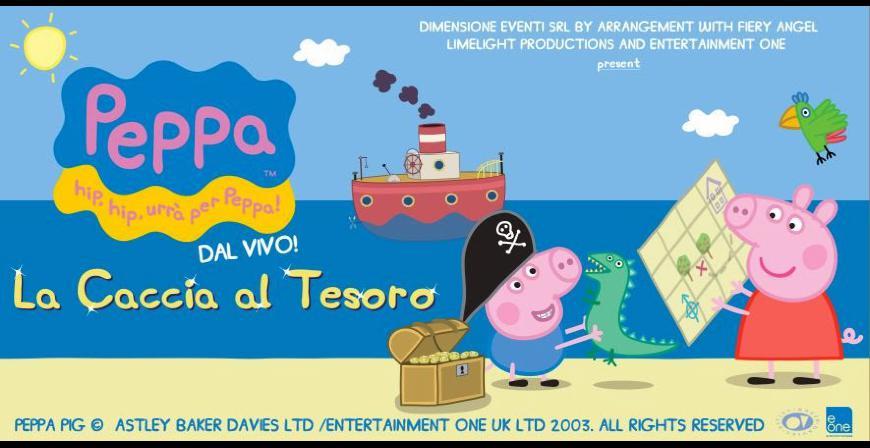 Spettacolo-a-Bari-Peppa-Pig-e-la-caccia-del-tesoro-il-16-marzo-al-TeatroTeam