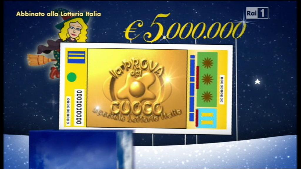 """Lotteria Italia 2014 biglietti estratti """"La Prova del cuoco"""": ecco tutti i tagliandi vincenti"""