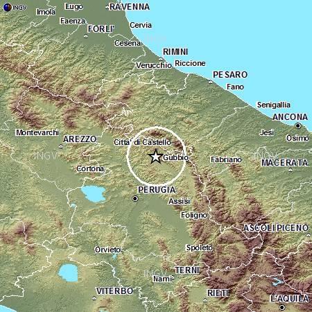 Terremoti in tempo reale: oggi, 3 gennaio, news nuove scosse a Gubbio