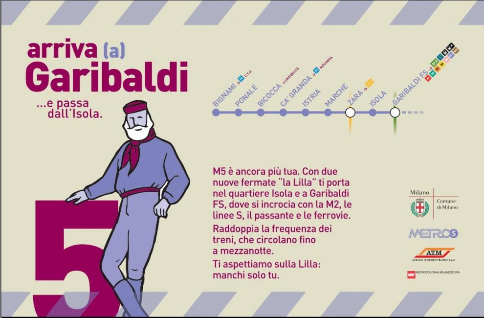 Milano Metro linea 5 lilla: news inaugurazione nuove stazioni Isola e Garibaldi