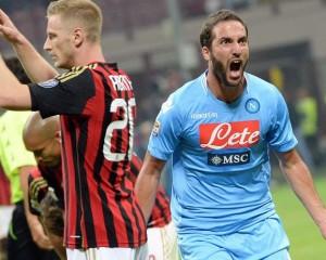 Diretta Napoli – Milan streaming gratis: diretta live oggi anticipo serie A