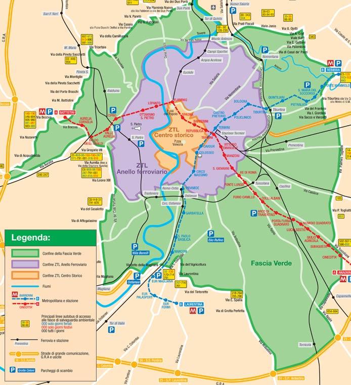 Blocco-auto-Roma-oggi-domenica-16-marzo-2014-chi-può-circolare-e-chi-no