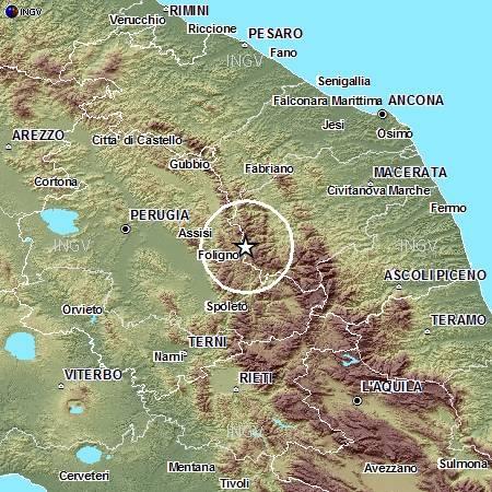Terremoti in tempo reale: oggi 29 marzo 2014, nuova scossa tra Macerata e Perugia