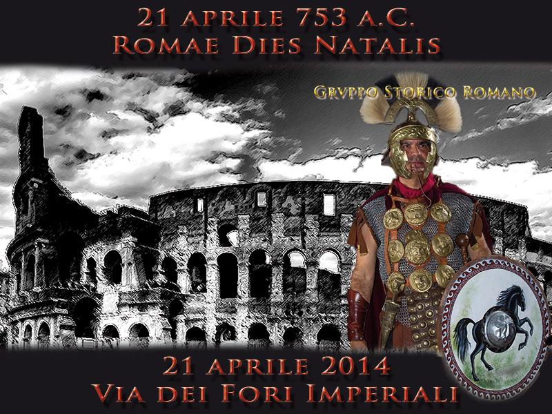 Natale di Roma 2014: oggi la capitale compie 2767 anni, programma eventi