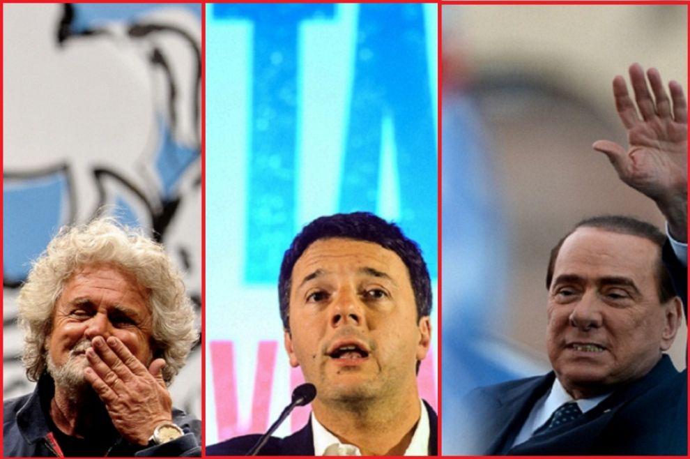 Elezioni-Comunali-Bari-2014-ultime-notizie-su-presenza-Renzi-Grillo-e-Berlusconi