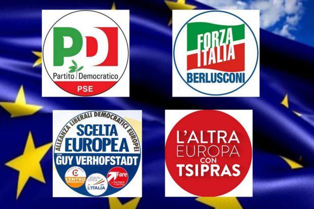 Ultimi sondaggi politici elettorali europee 2014: proiezioni e intenzioni di voto M5S, PD e FI