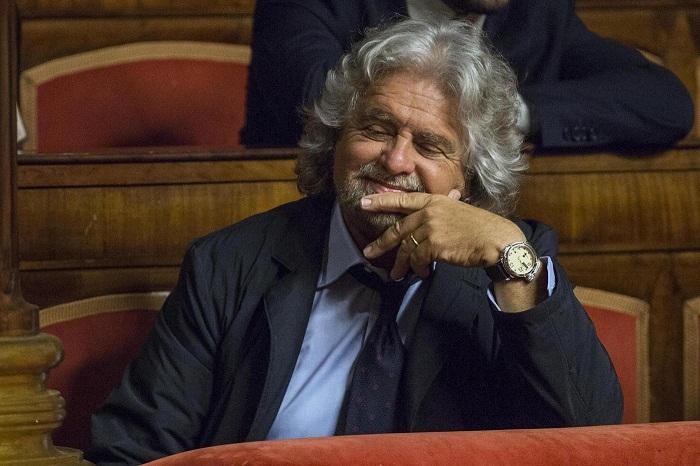 """Rai.tv  Diretta Streaming oggi Beppe Grillo da Vespa a """"Porta a Porta"""""""