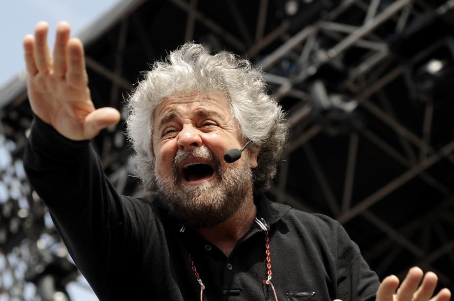 Diretta La Cosa Beppe Grillo streaming: comizio oggi Roma Piazza San Giovanni