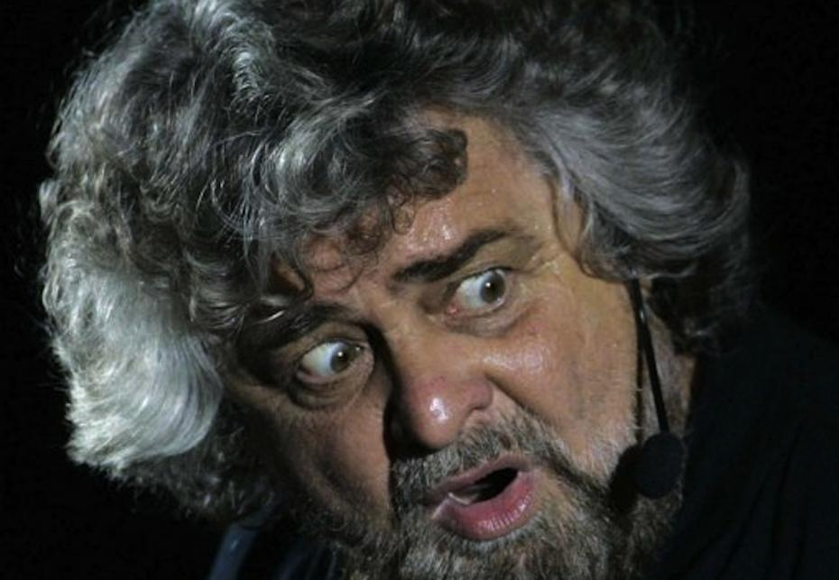 """Beppe Grillo oggi a Reggio Emilia """"Vinciamonoi"""" tour diretta streaming: comizio su www.beppegrillo.it e la cosa YouTube"""