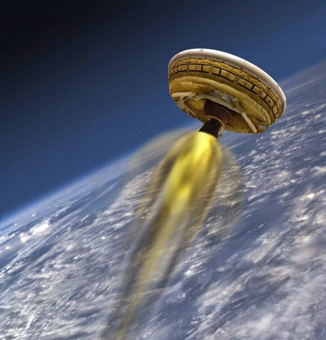 Primo-test-Nasa-per-atterraggio-uomo-su-Marte-con-disco-volante-Ldsd