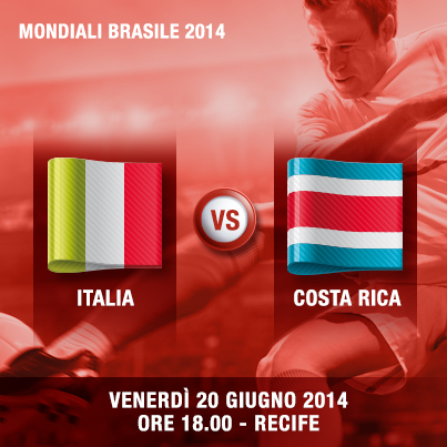 Diretta Italia – Costa Rica streaming gratis: live oggi su Rai Tv