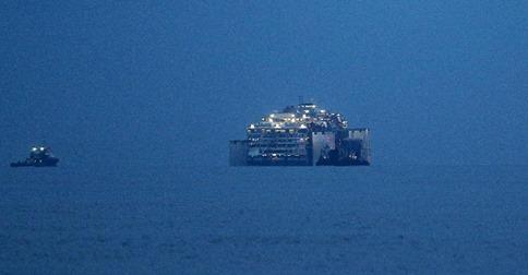 Diretta streaming oggi arrivo Costa Concordia porto di Genova