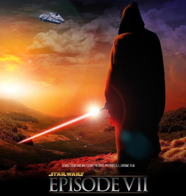 Star Wars VII per iniziativa benefica il regista  J.J. Abrams svela lo X-Wing