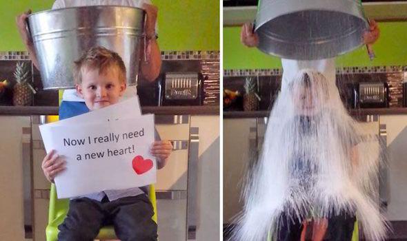 Ice Bucket Challenge, toccante video di Albert bimbo di 5 anni in attesa di trapianto al cuore