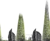 Londra, progettato grattacielo organico che si sviluppa con i rifiuti