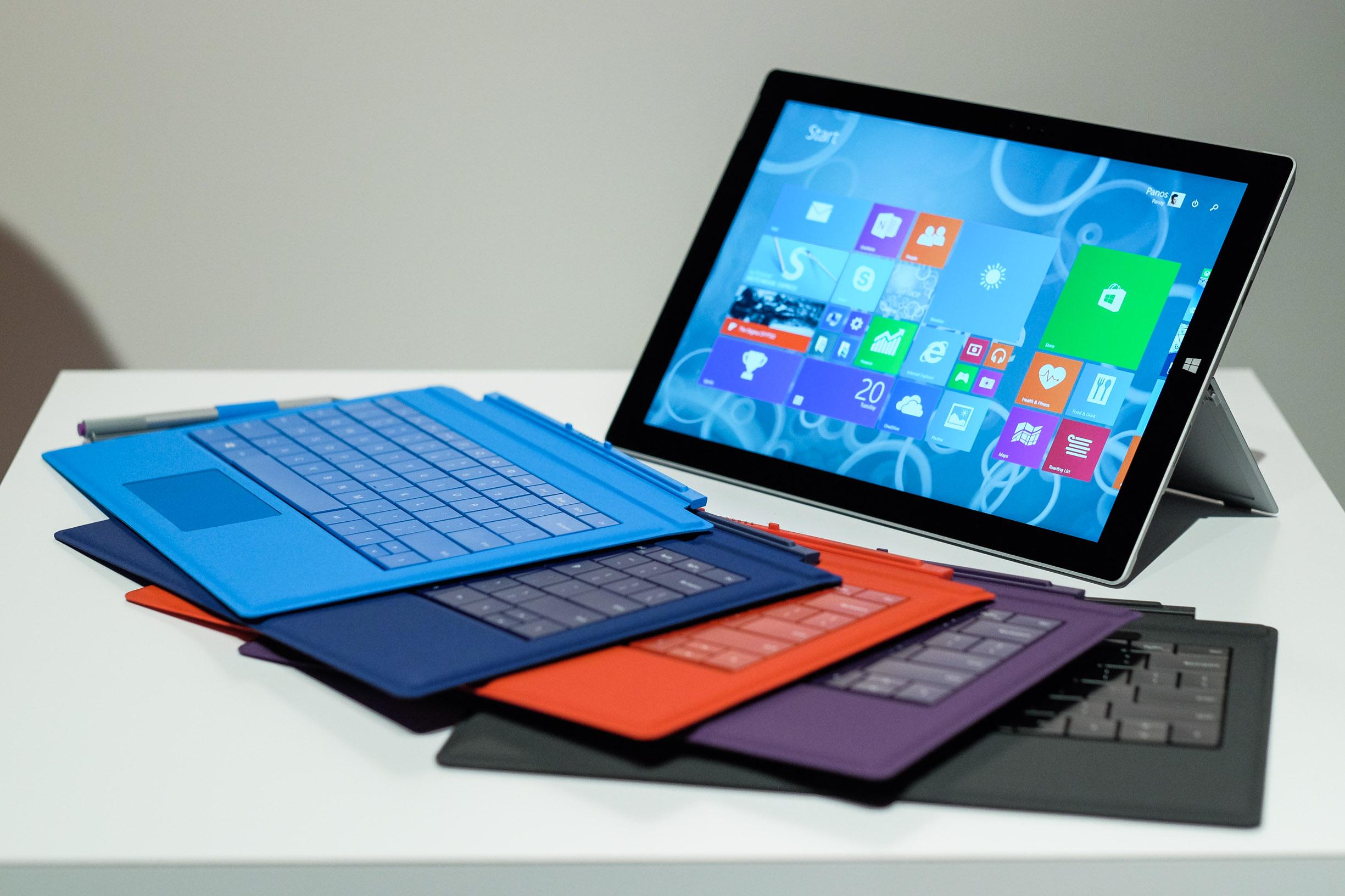 Surface Pro 3: è in commercio in Italia l'ultimo device made Microsoft