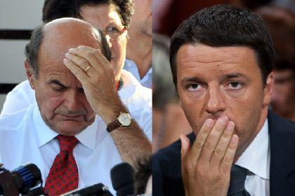 """Lavoro, Bersani a Renzi """"ci rispetti come Berlusconi"""" il premier risponde """"cascate male"""""""