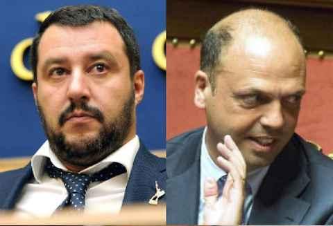 """Matteo Salvini  attacca il Ncd: """"parlo con Renzi non con Alfano"""""""
