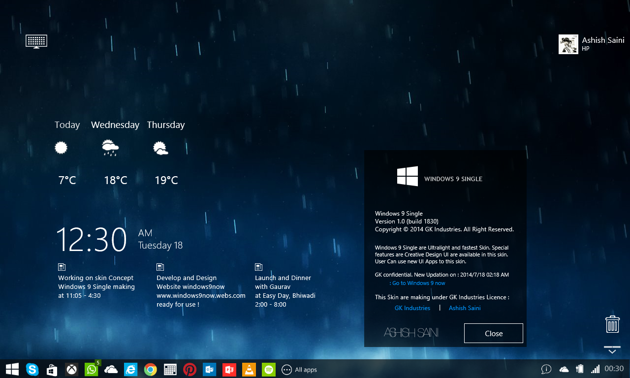 Windows 9: nuove indiscrezioni confermato ritorno al menu a tendine