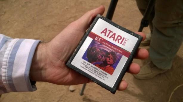 """Atari, mitiche cartucce videogioco """"E.T."""" trovate in New Mexico in mostra a Roma"""