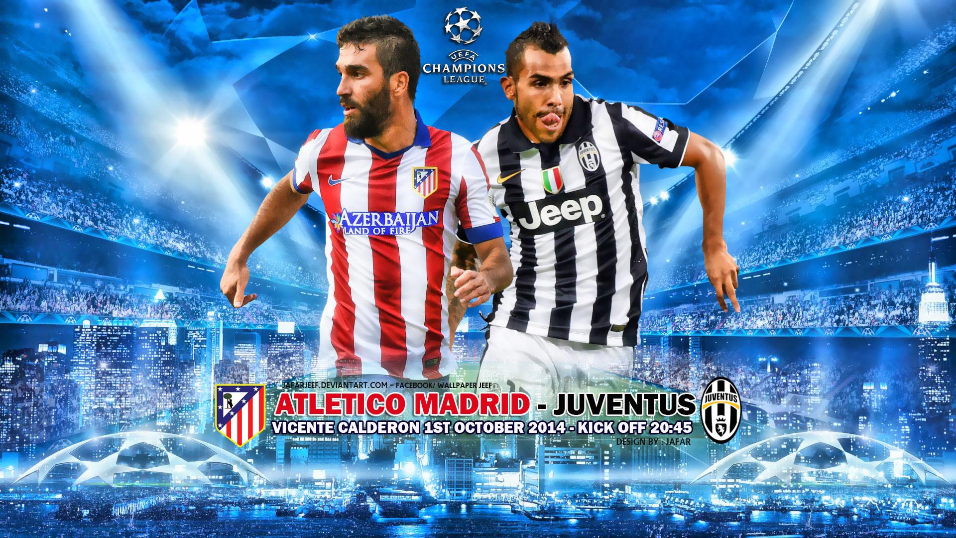 Diretta-oggi-livescore-Atletico-Madrid – Juventus-streaming-gratis-formazioni-ufficiali
