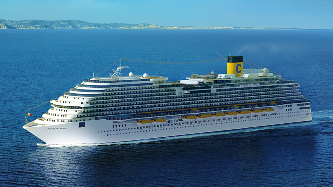 Costa Crociere la nuova nave Diadema è  306 metri di sfarzo