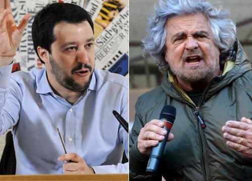 Grillo-frena-Matteo-Salvini-niente-battaglia-comune-contro-l-Euro