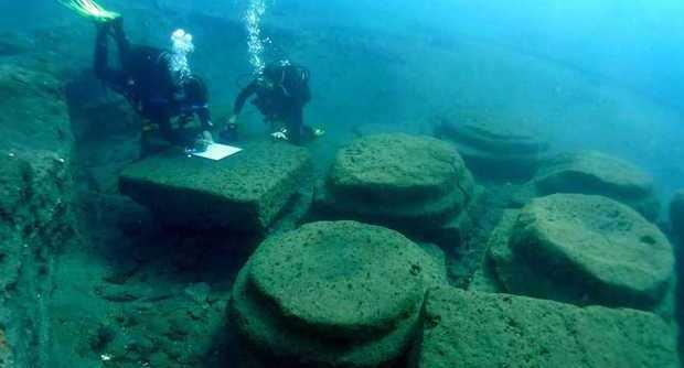 Isole Eolie, risorge dal mare il grande porto romano di Lipari