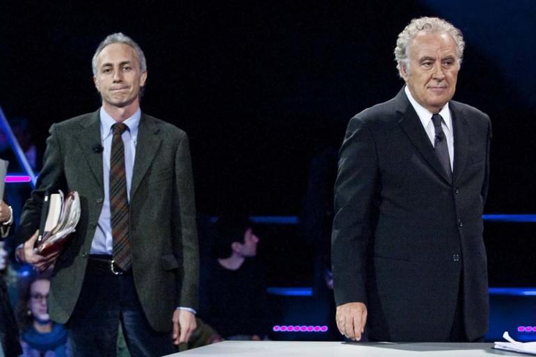 Michele Santoro e Marco Travaglio dopo la lite, torna il sereno?