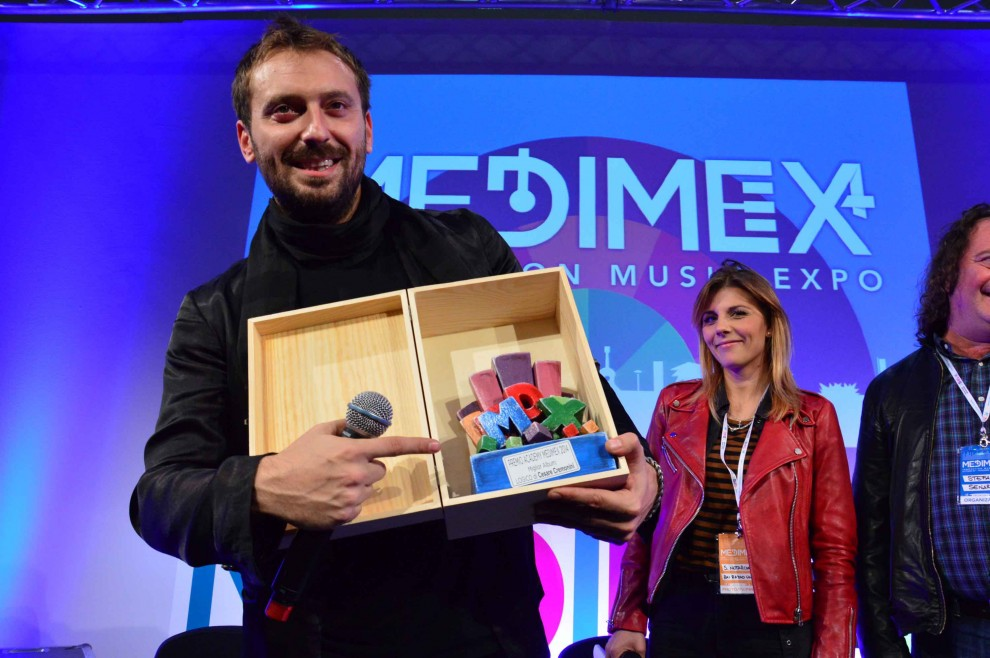 """Cesare Cremonini stravince al Medimex a Bari con """"Logico"""""""
