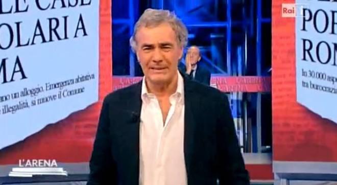"""Massimo Giletti, attimi di paura per improvviso malore a """"L'Arena"""""""